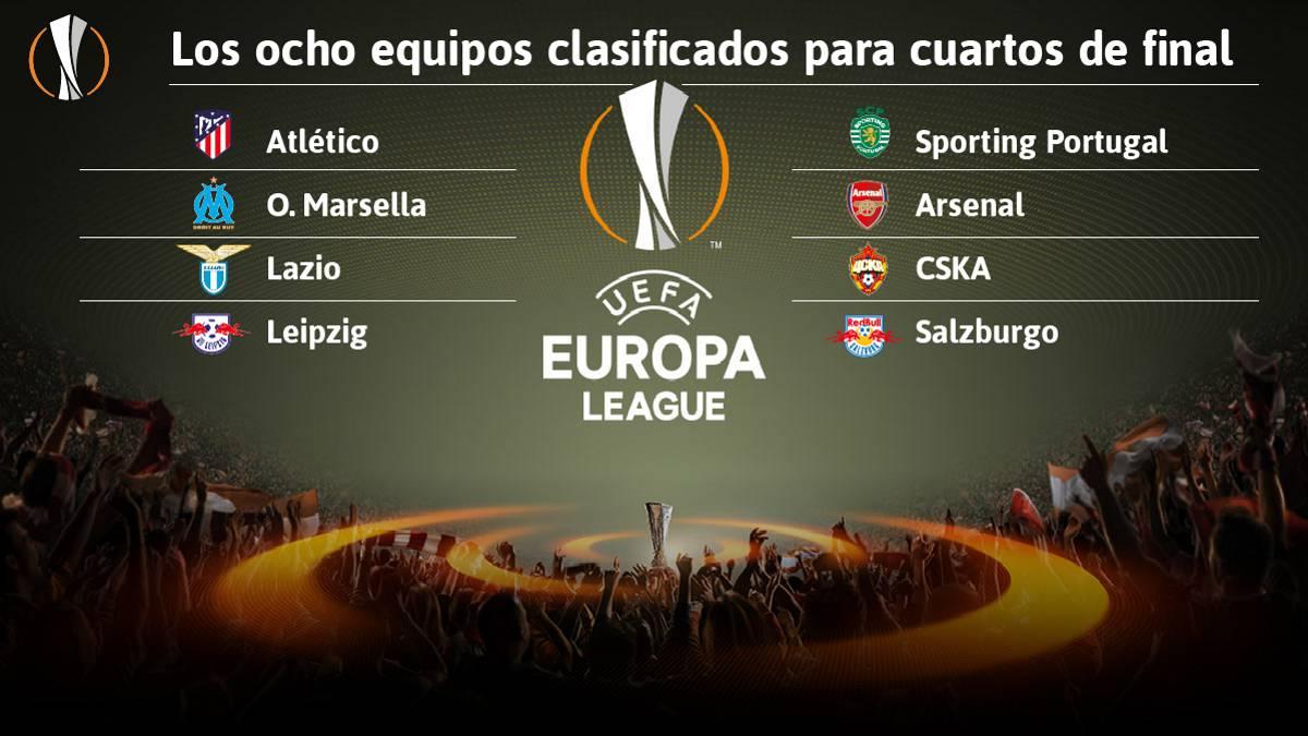 Resultado de imagen para sorteo europa league
