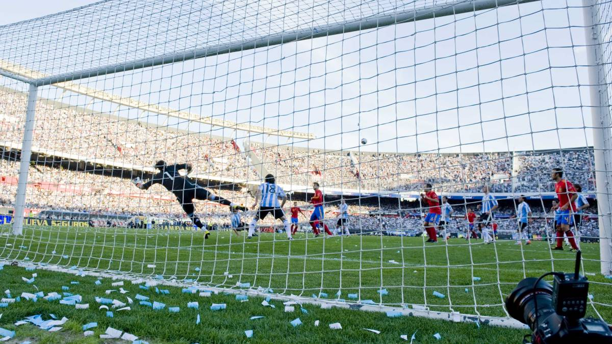 Argentina gana por 6-5 en el balance de partidos ante España - AS.com 91bd7e93e7ae3