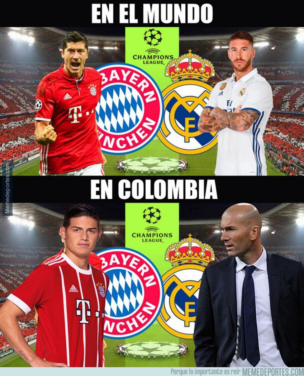 Los Memes Mas Divertidos Del Bayern Real Madrid As Com