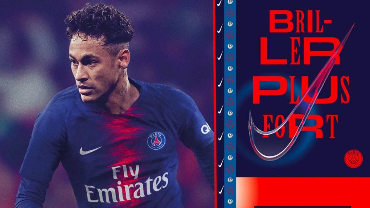 364be5e80a0ba Recado del PSG al Madrid  pone la nueva camiseta a Neymar - AS.com