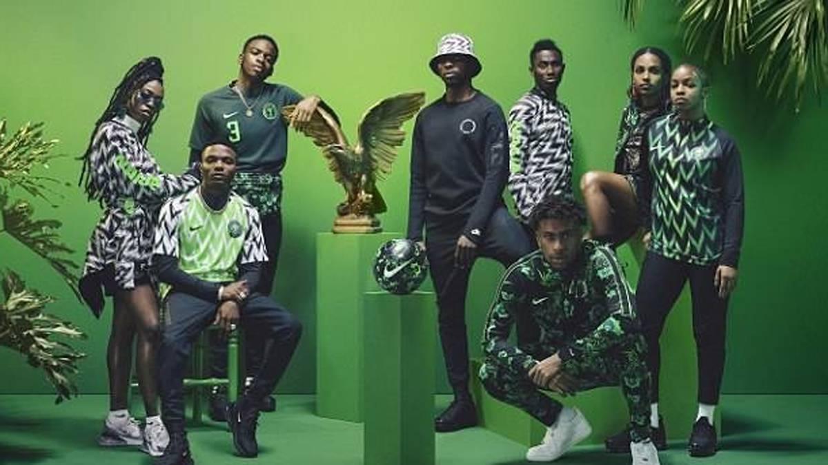 75962270374 Nike, desbordada por la camiseta de Nigeria para el Mundial - AS.com