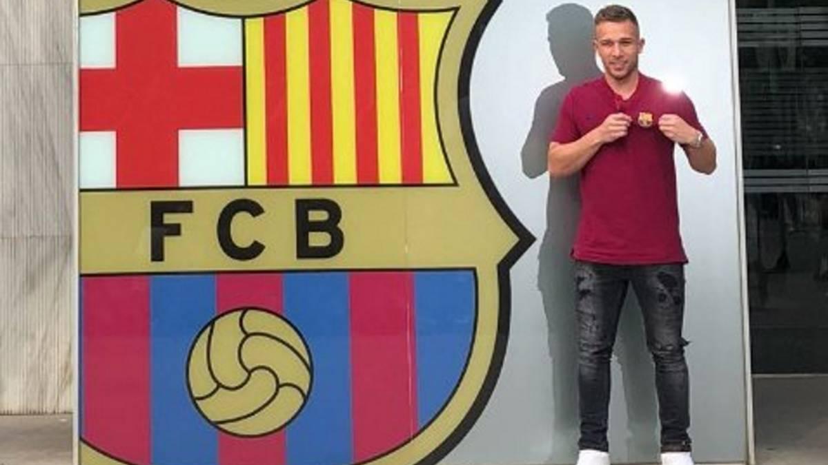 Camiseta FC Barcelona Arthur