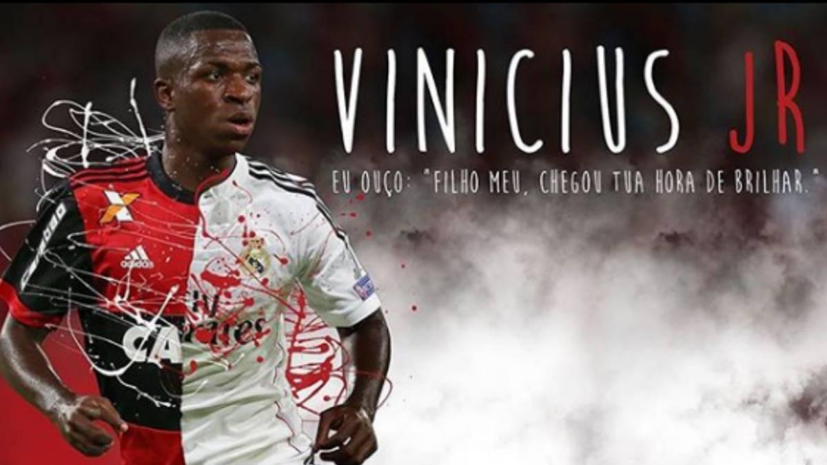 Vinicius ya es oficialmente del Madrid  hoy cumple 18 años - AS.com cb3542b9b90fe