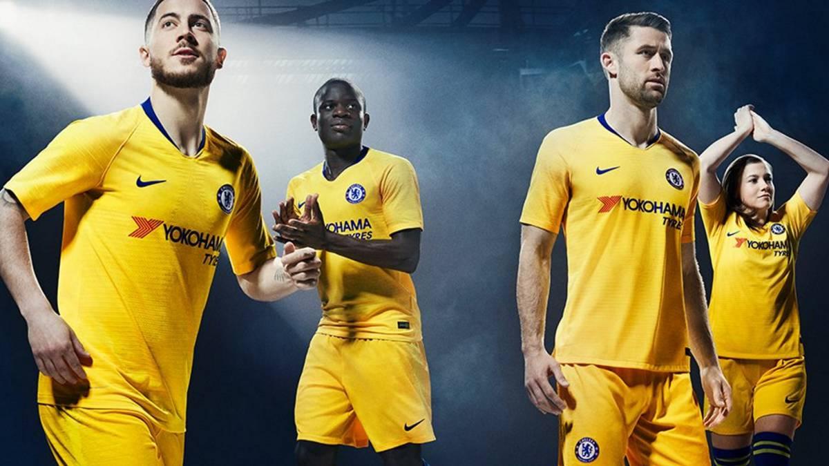 segunda equipacion Chelsea nuevas