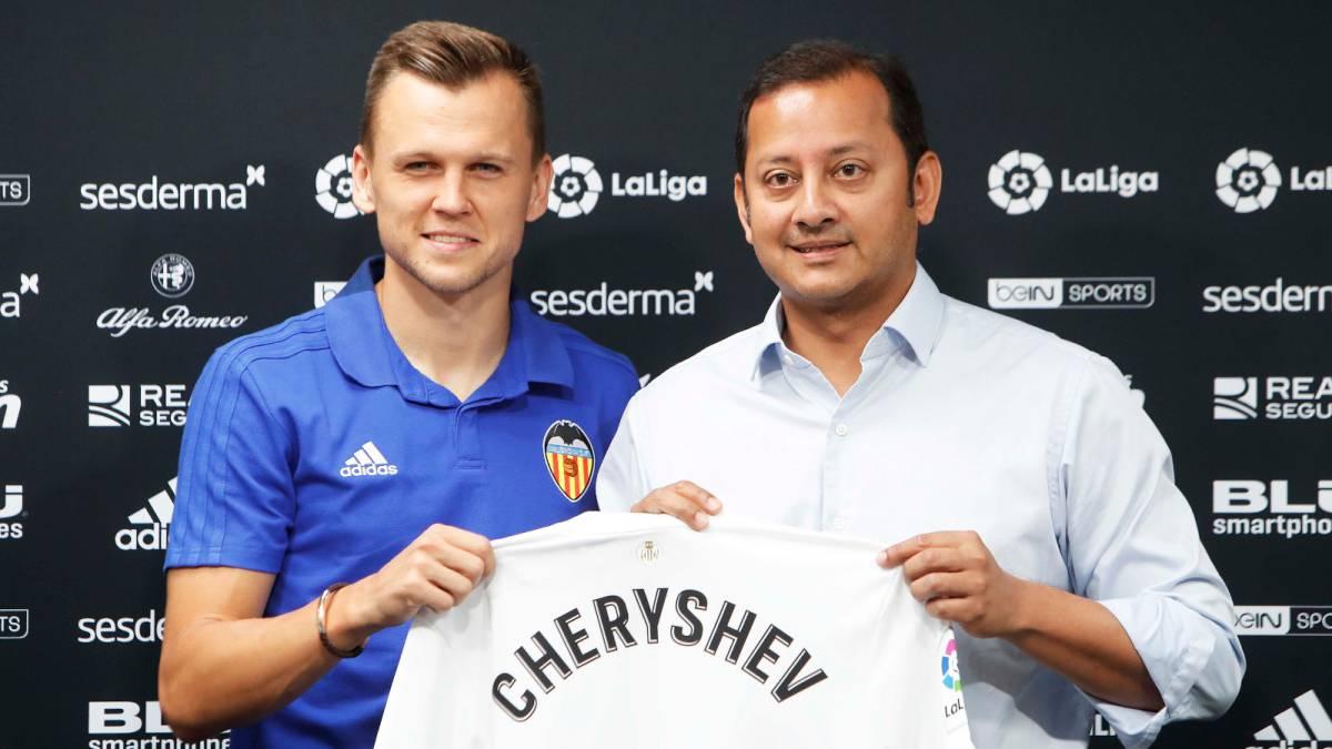 Camiseta Valencia CF Chéryshev