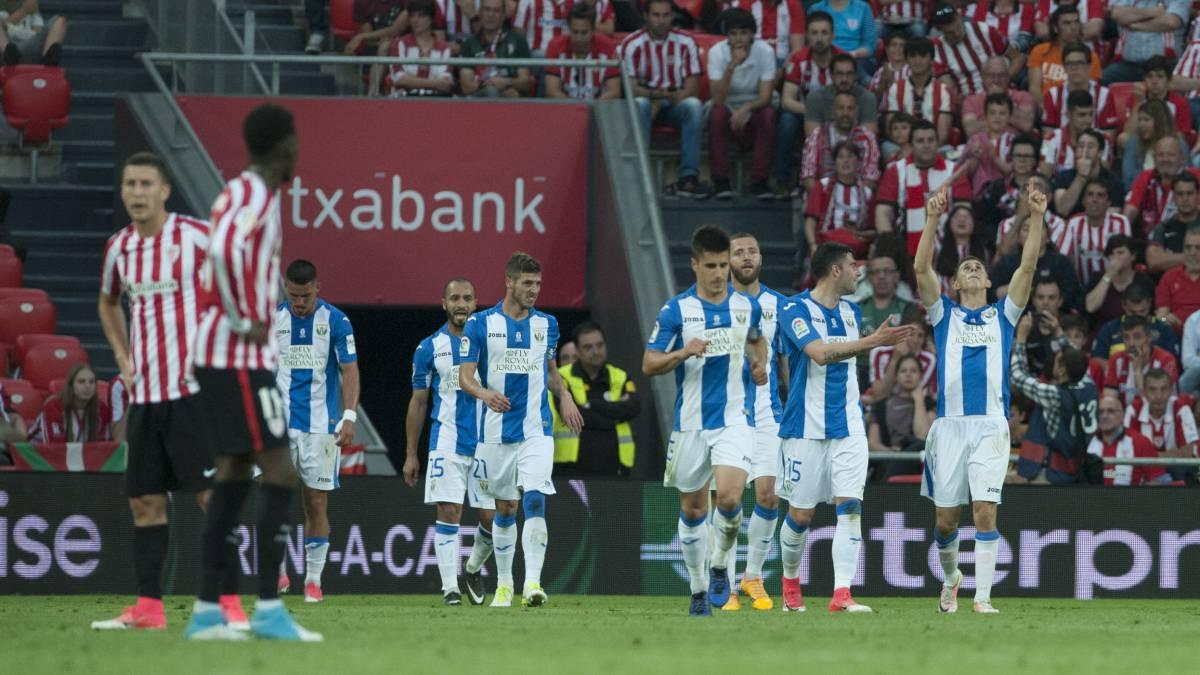 Los héroes de 2017 en el Leganés no repetirán esta noche en Bilbao ...