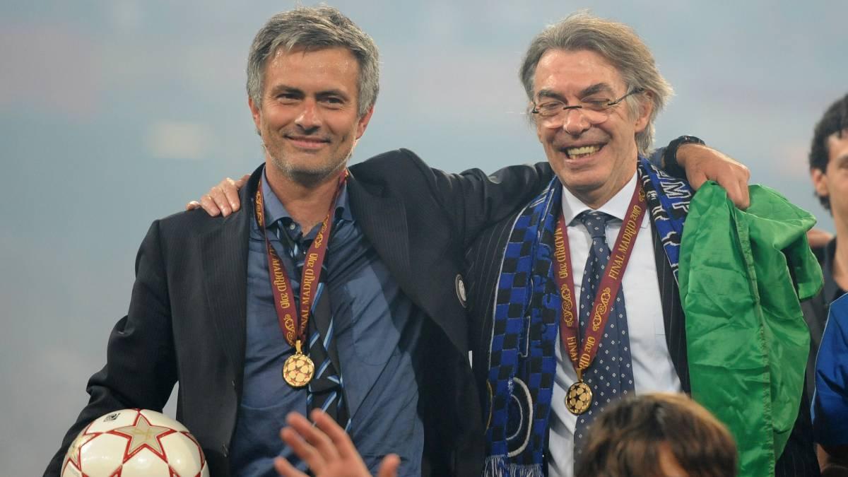 Moratti se decidió por Mourinho tras una respuesta en 2004 - AS.com