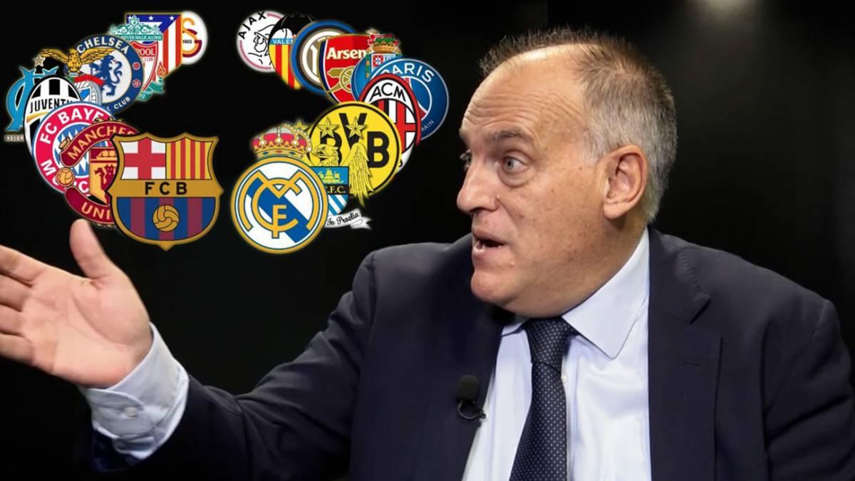 Tebas y el factor de por qué la Superliga europea sería un fracaso total   no le falta razón f4cefe5ae2275