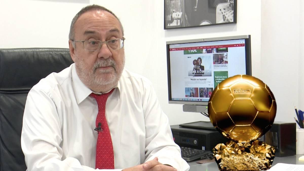 Relaño explica los motivos de sus 5 votaciones al Balón de Oro - AS.com 6e4f97b489688
