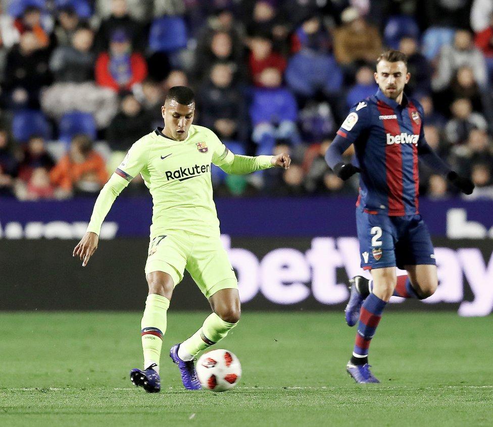 Le onze du Barça pour affronter Levante