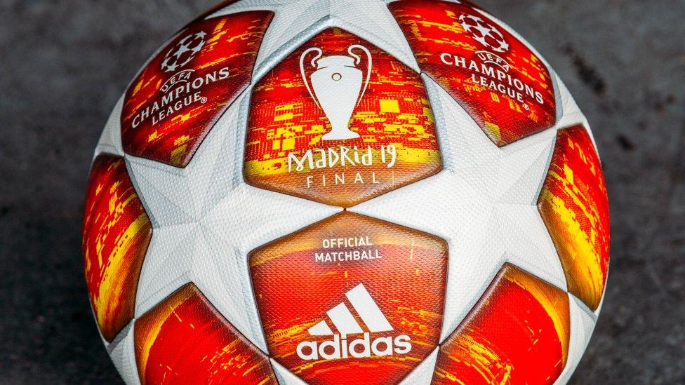 3558ea97037fc El Balón Oficial para la fase final de la ... balon champions 2019 oficial  final