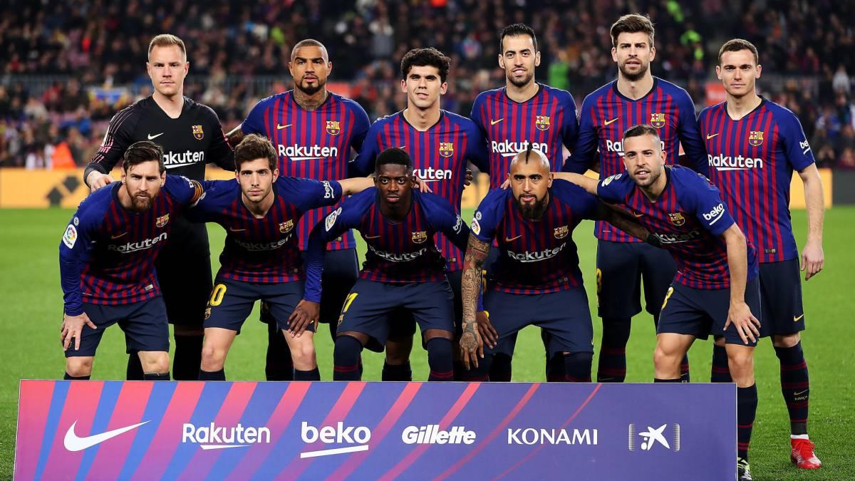 Liga Santander 1x1 Del Barcelona El Equipo Se Hace Pequeño Y