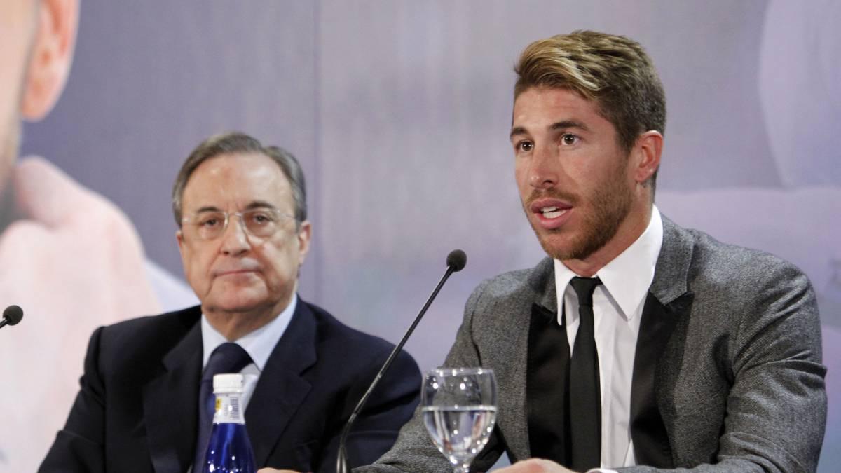 Real Madrid | Florentino tendría que pagar 25M€ a Ramos para echarle -  AS.com