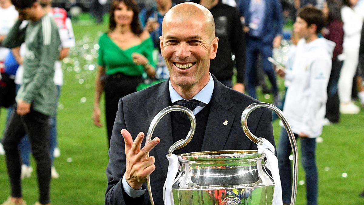 10839cd8f4 Zidane vuelve al Real Madrid: el hombre de las cinco Champions - AS.com