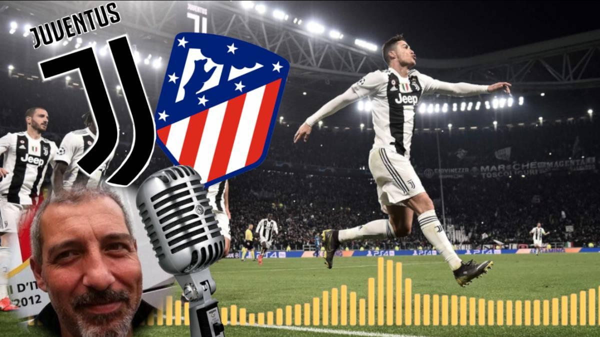6cc706c3d45bf Así narró Juventus TV el  hat-trick  de Cristiano que eliminó al Atleti