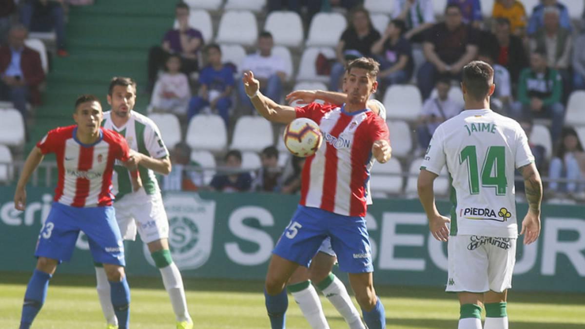 Córdoba 1-2 Sporting  resumen 3d3ae95877542