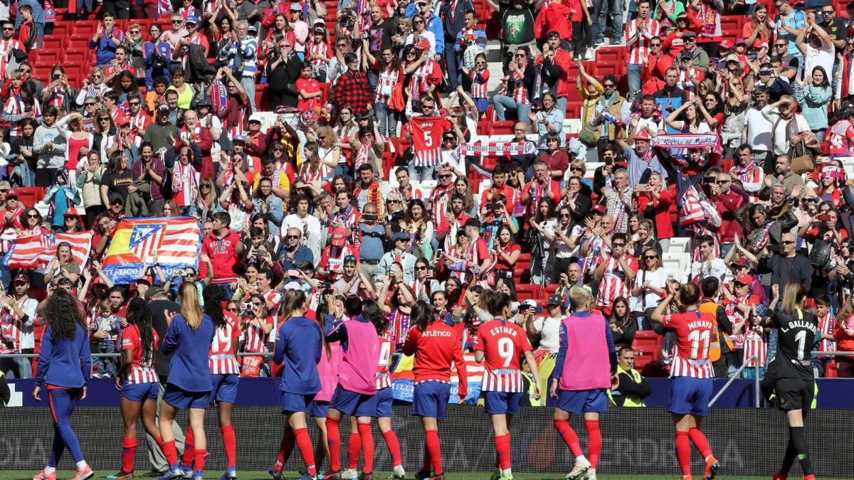 Récord mundial de asistencia en un partido femenino en el Wanda - AS.com eaf365fa60c14