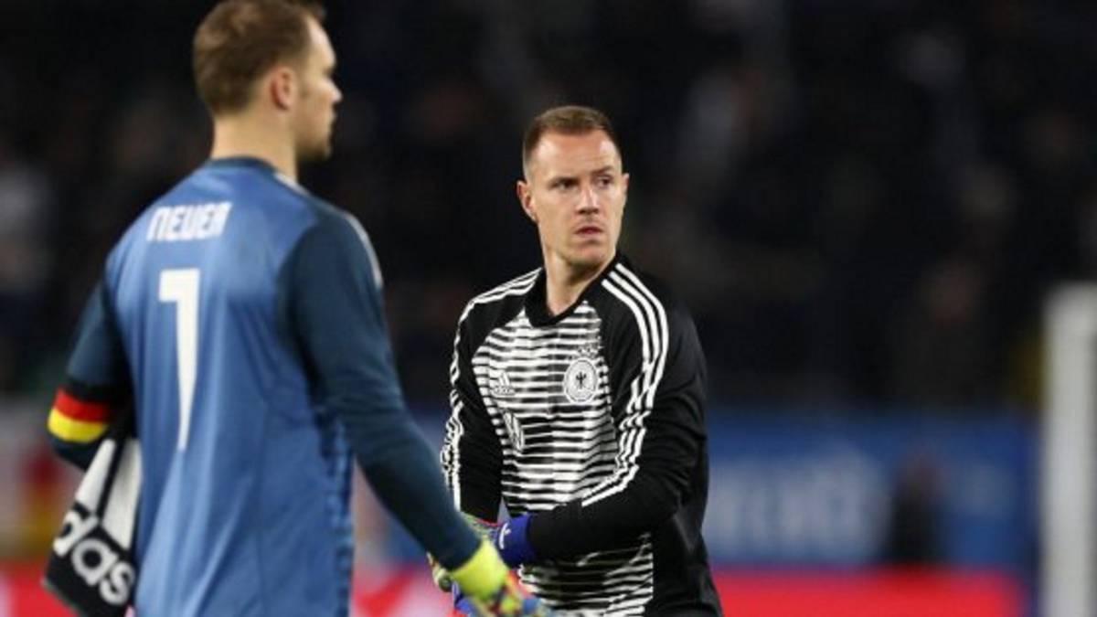 Resultado de imagen de Neuer ter stegen serbia