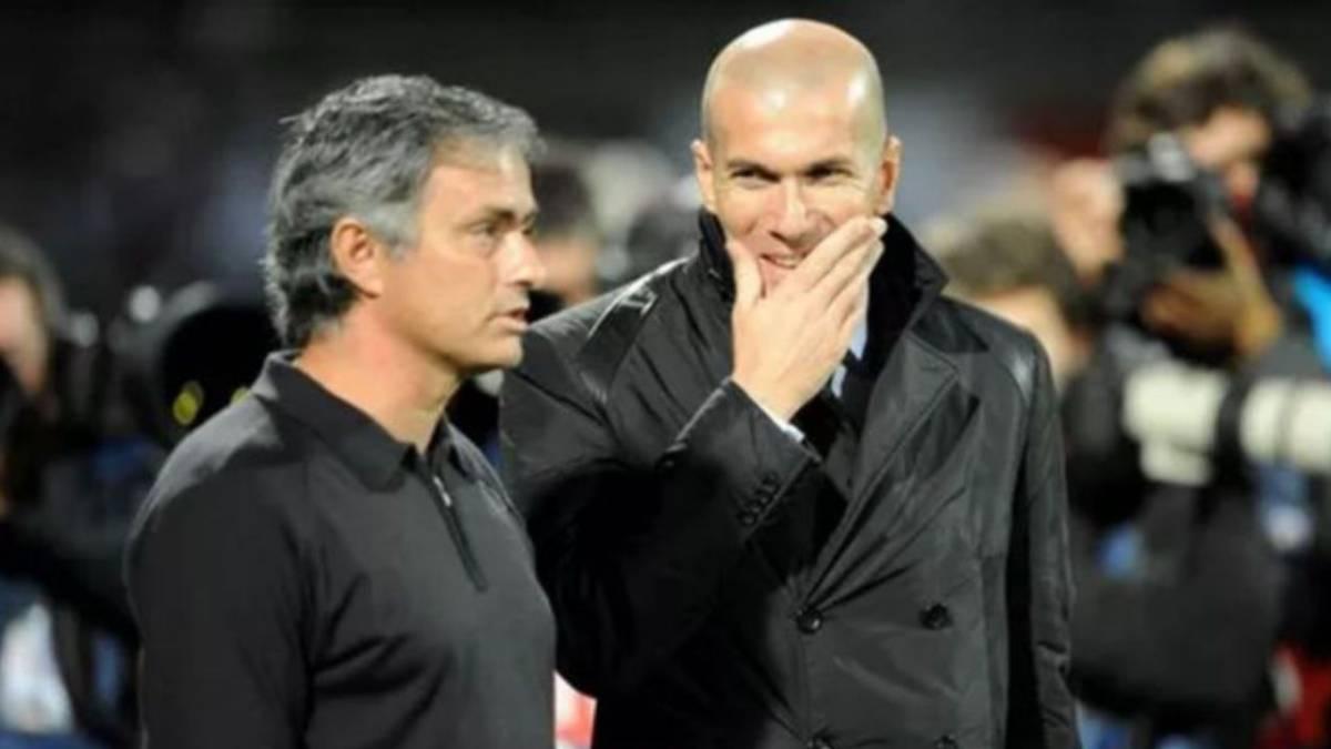 Resultado de imagen para mourinho zidane