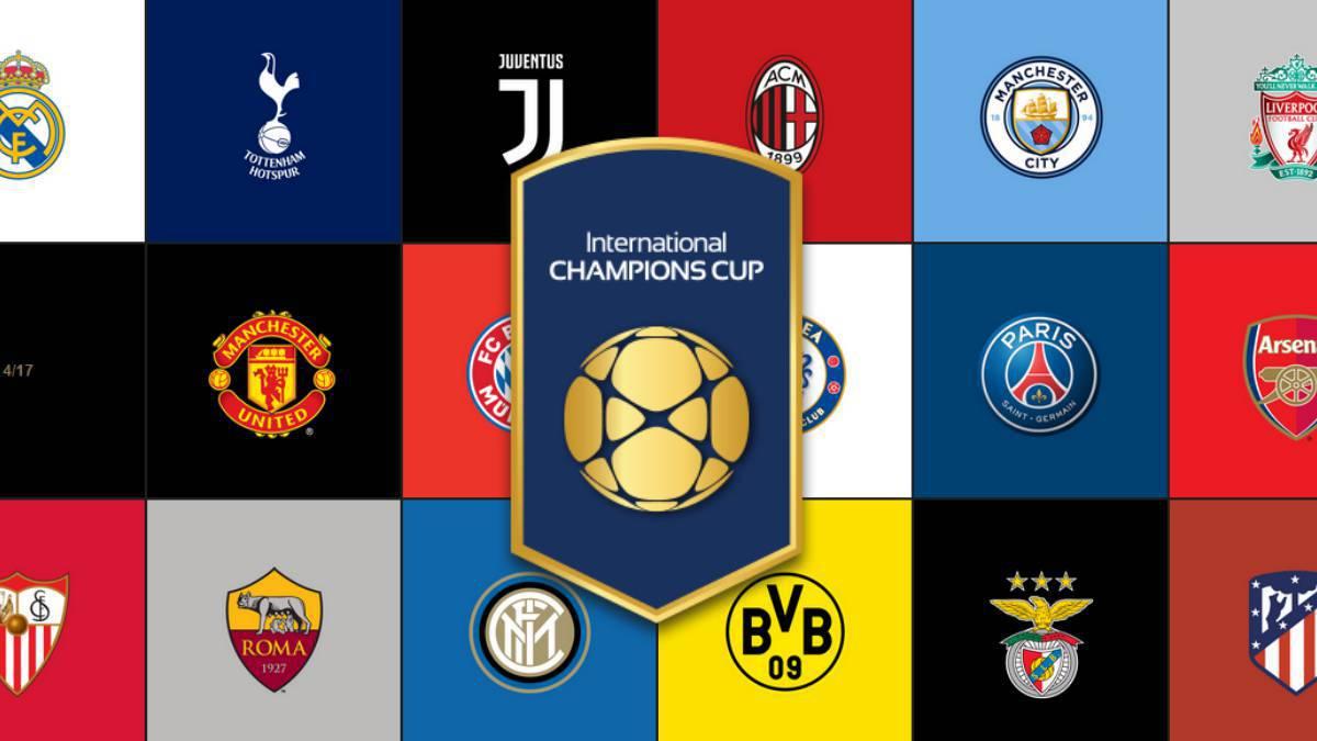 Chivas International Champions Cup Calendario.Asi Queda El Sorteo De La International Champions Cup 2019