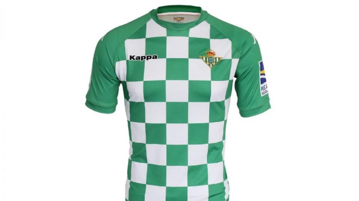 62ea8cab6 Nueva camiseta del Betis: cambia las rayas por el estilo 'ajedrezado ...