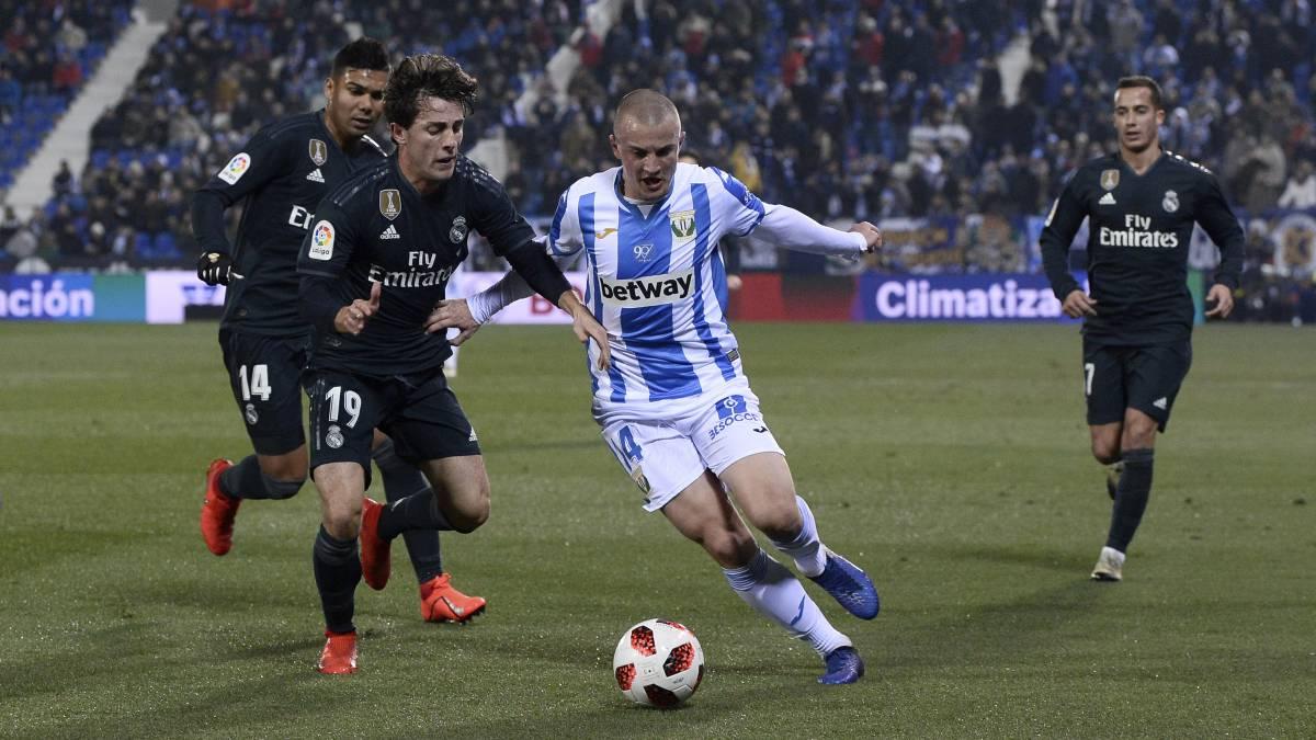 Resultado de imagen de El Leganés iguala al Real Madrid como el equipo con más titulares