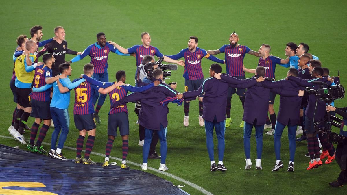 Nueva Liga blaugrana. La Champions se abre cada vez mas tras las derrotas de Getafe, Sevilla y Valencia.