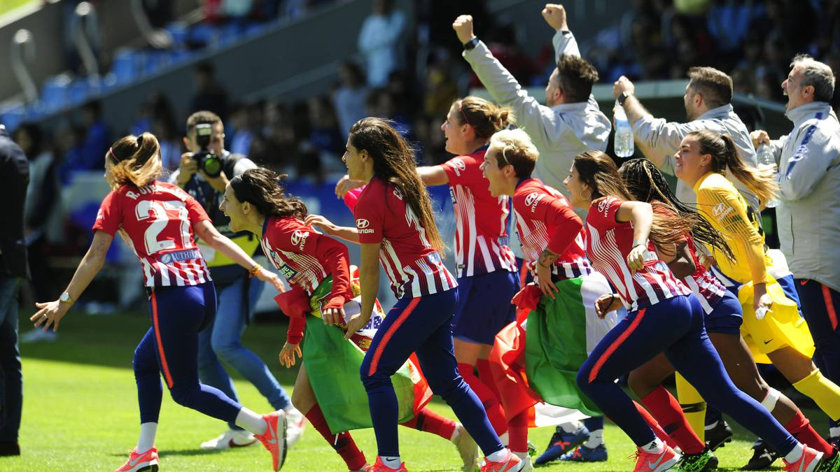 Liga Iberdrola Calendario.Tiran Eda Del Atleti En La Liga Iberdrola 3a Gana La Tercera Seguida