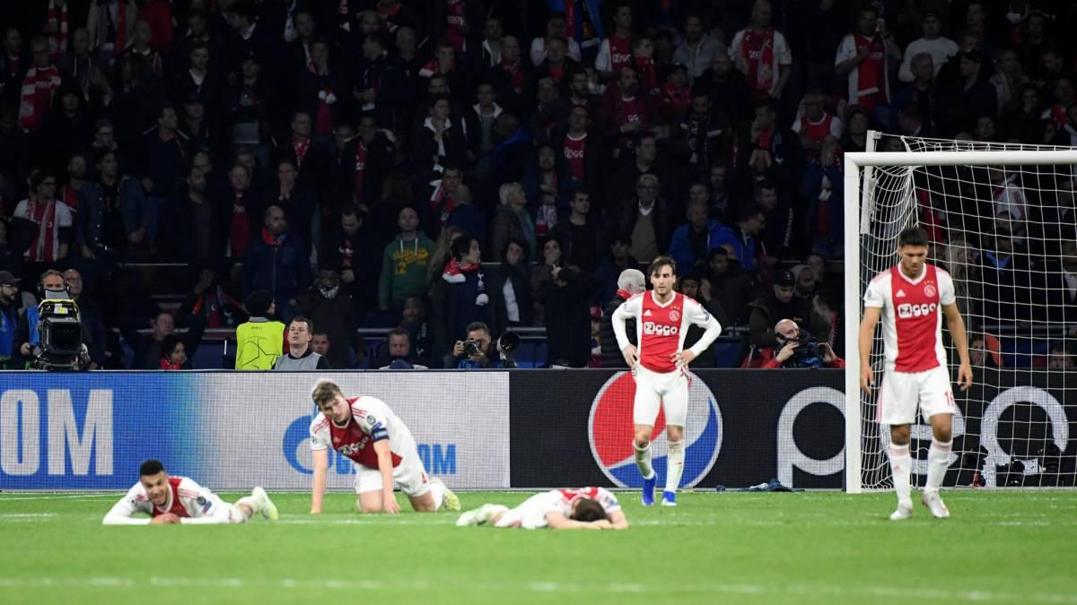 Del EliminaciónPerdieron En Desplome Bolsa 85m€ Ajax Tras La OPiZXuk