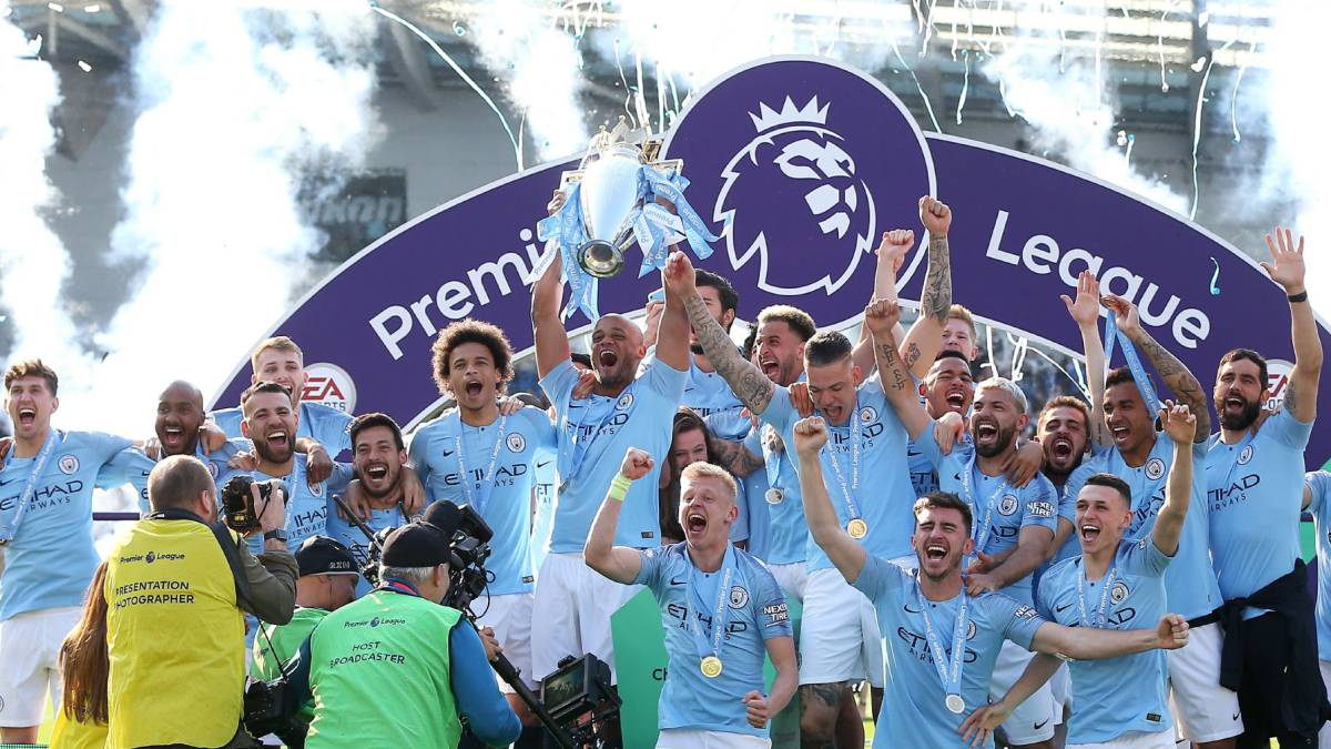 Manchester City se corona en la Premier League gracias a la derrota de Manchester United
