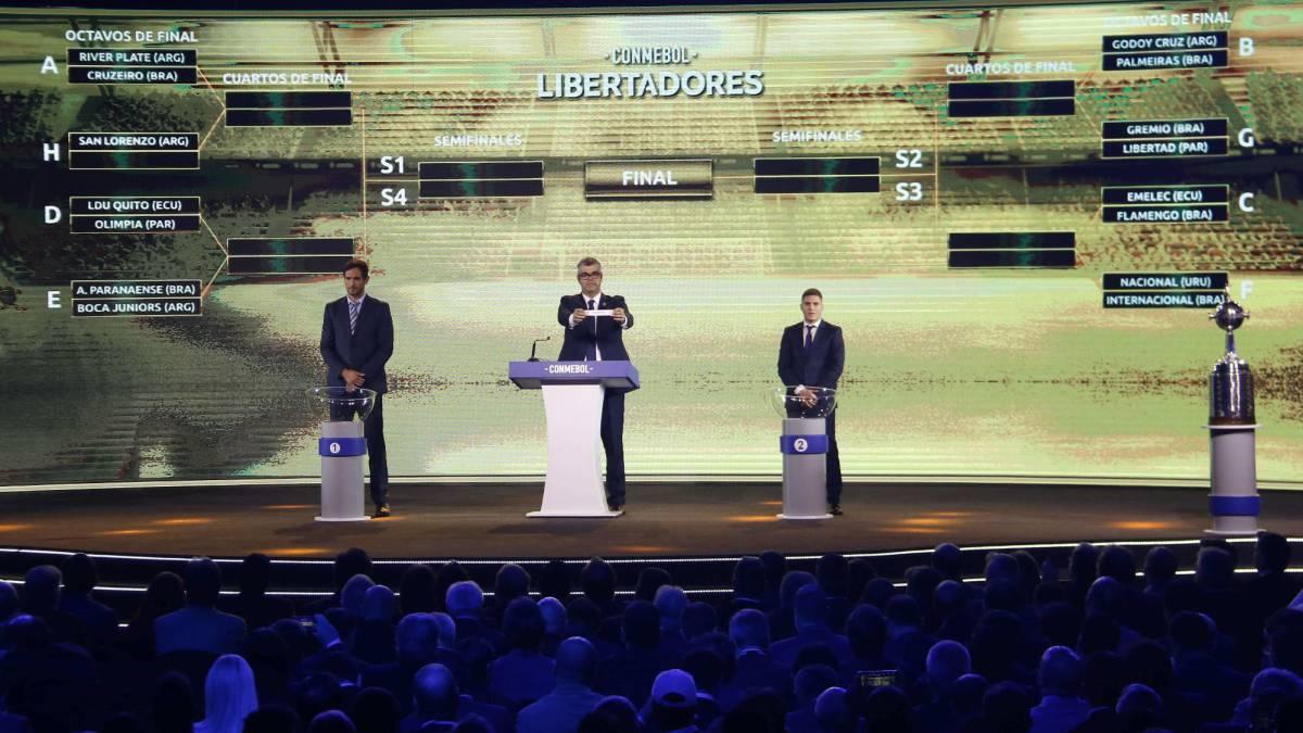 Copa Libertadores 2019: fixture de los octavos de final - AS.com