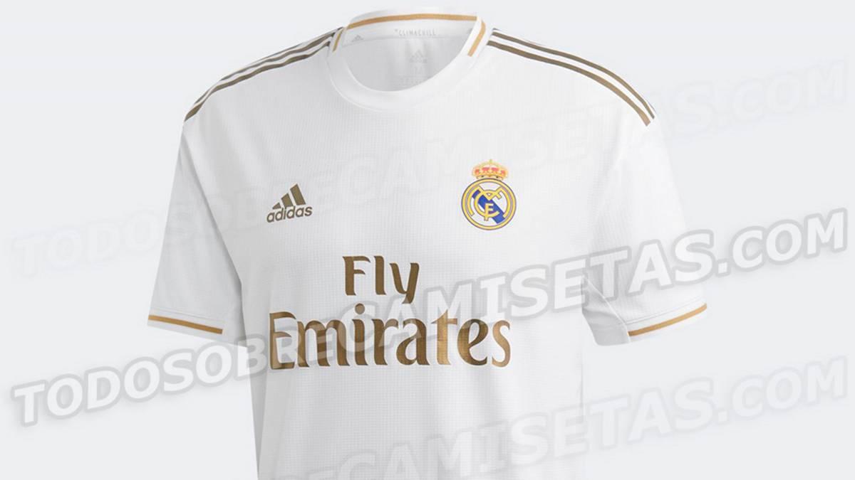 00a3846d Filtran las camisetas del Real Madrid para la 2019/20 - AS.com