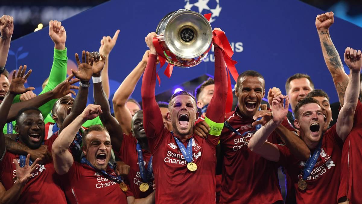 Final Champions Así queda el palmarés de la Champions con el Liverpool  campeón - AS.com