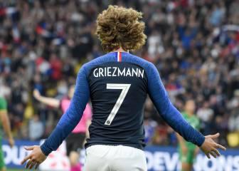 Barcelona Neymar, en los números de Griezmann con casi 50