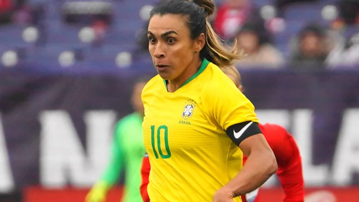 Brasil debutará sin su estrella: Marta, baja ante Jamaica - AS.com