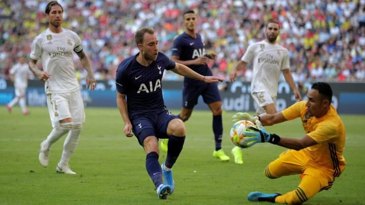 Real Madrid Tottenham Keylor Esta Solo As Com
