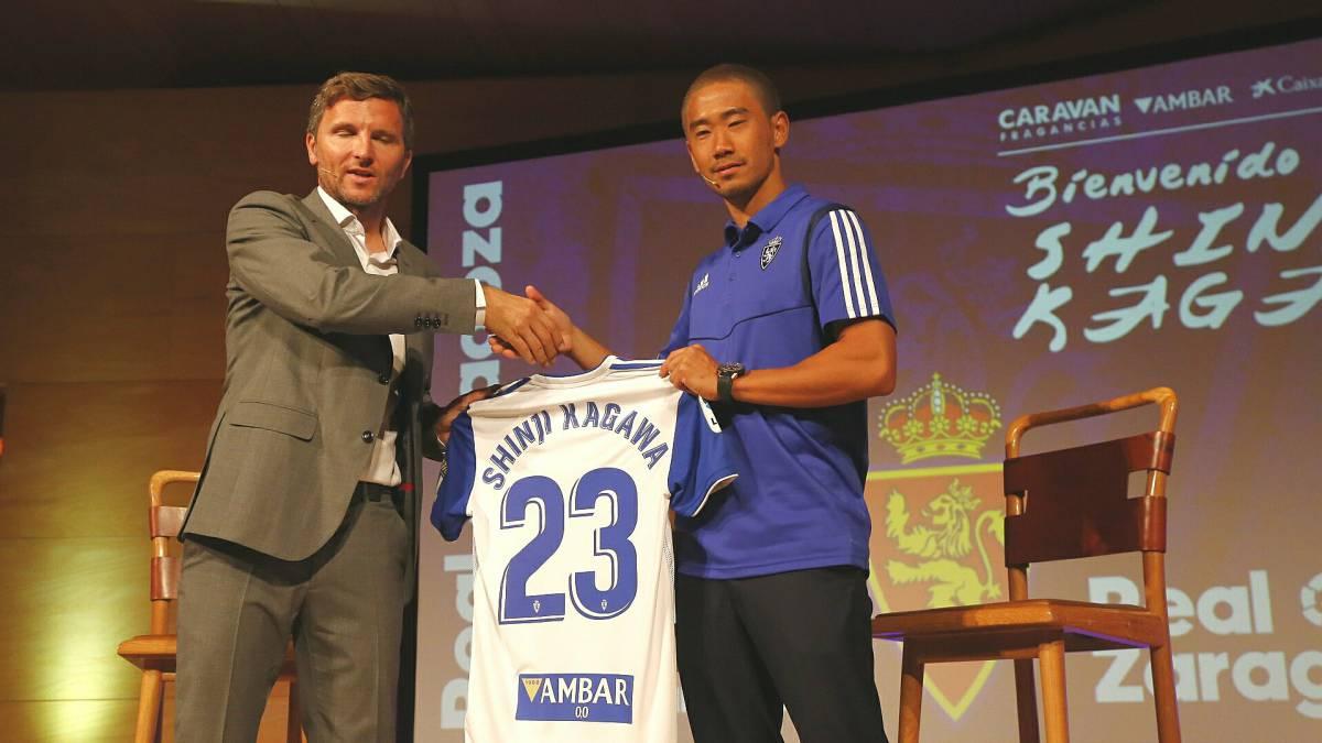 Real Zaragoza Kagawa Vamos A Ascender A Primera Division As Com