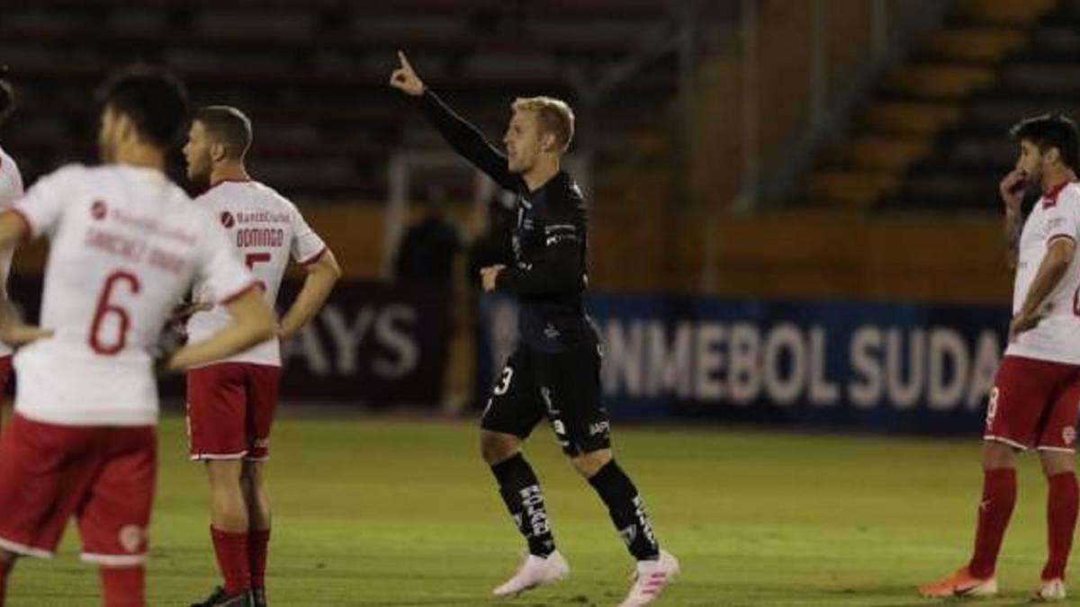 Debut soñado de Dani Nieto en Sudamericana: gol y a semifinales ...