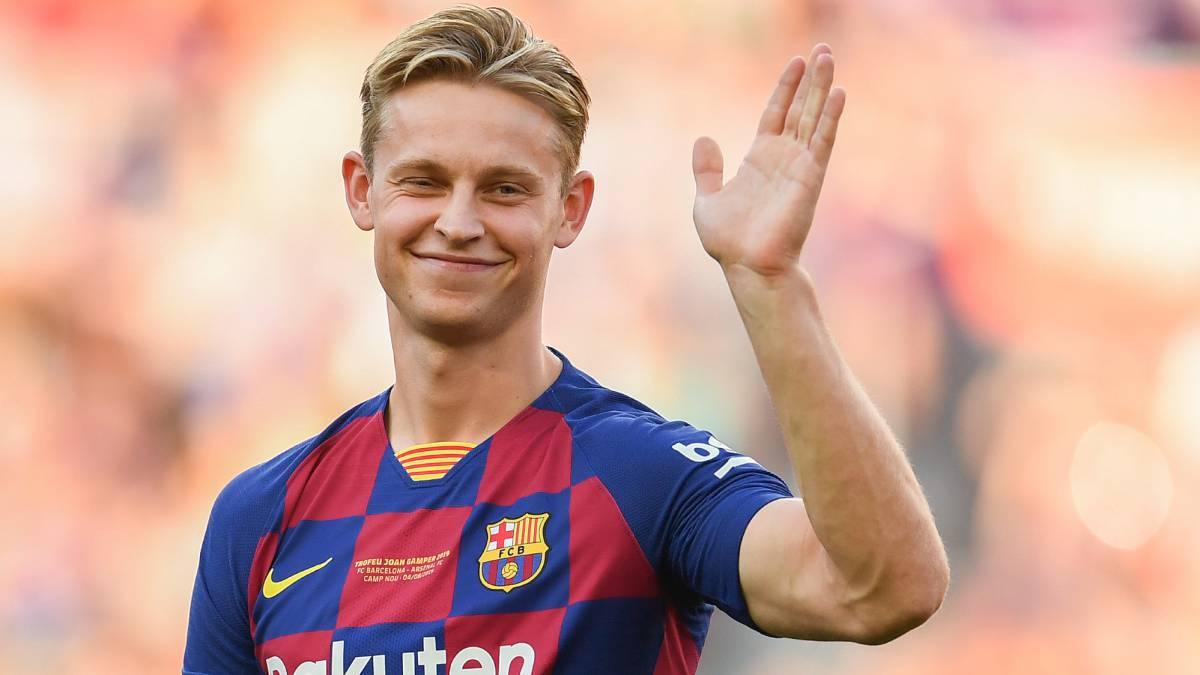 De Jong, un diamante en busca de su sitio en el Barça - AS.com
