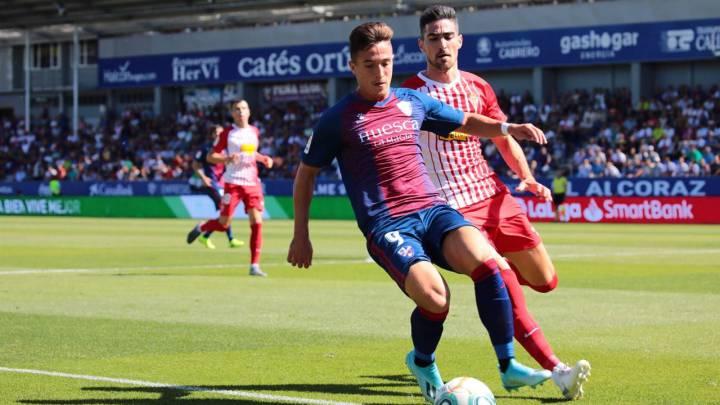 sitio autorizado zapatos de separación moda caliente Huesca 1 - Sporting 0: resumen goles y resultado - AS.com