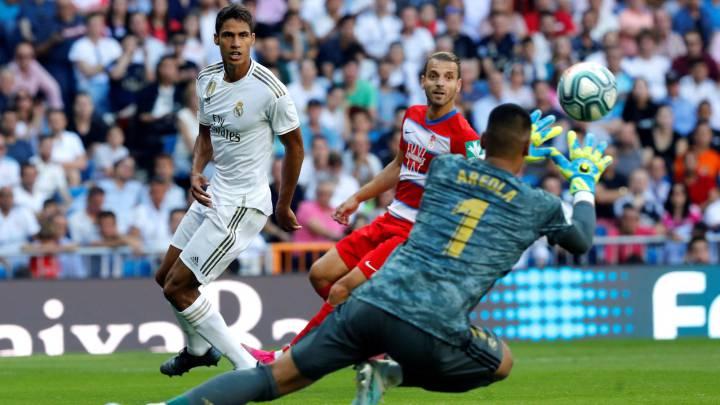 mas bajo precio boutique de salida 100% de satisfacción Real Madrid - Granada en directo: LaLiga Santander, en vivo ...