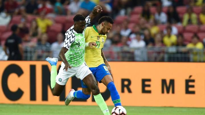 Resultado de imagen para brasil nigeria