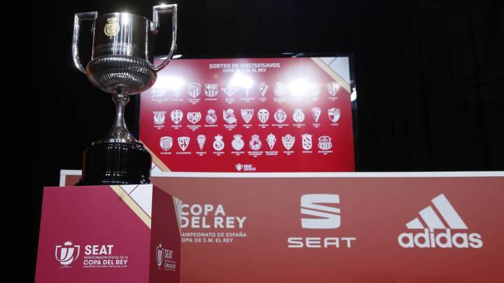 Sorteo Copa del Rey: cruces y partidos de la primera ronda ...