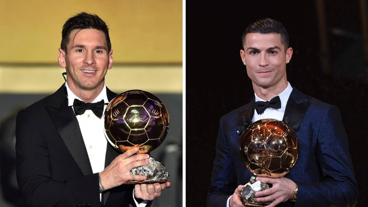 Messi vs Cristiano: ¿cuántos balones de oro tiene cada uno? - AS.com