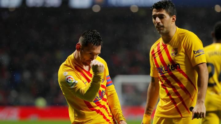 Atletico Madrid 0 1 Barcelona Resumen Gol Y Resultado As Com