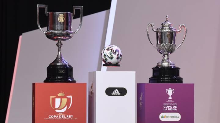 Zaragoza-Madrid%2C Bar%E7a-Legan%E9s%2C Cultural-Valencia... as%ED fueron  los cruces de Copa