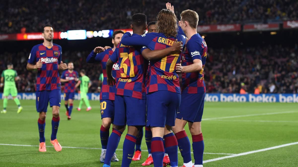 Resumen Y Goles Del Barcelona Vs Leganes De La Copa Del Rey As Com