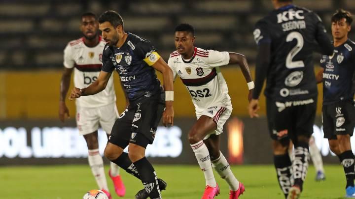Independiente Valle 2-2 Flamengo: goles, resumen y resultado - AS.com