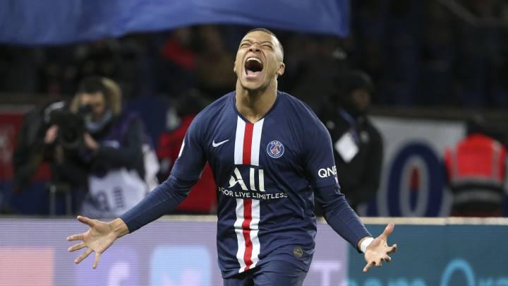 Mbappé será el único jugador intransferible del PSG en verano - AS.com