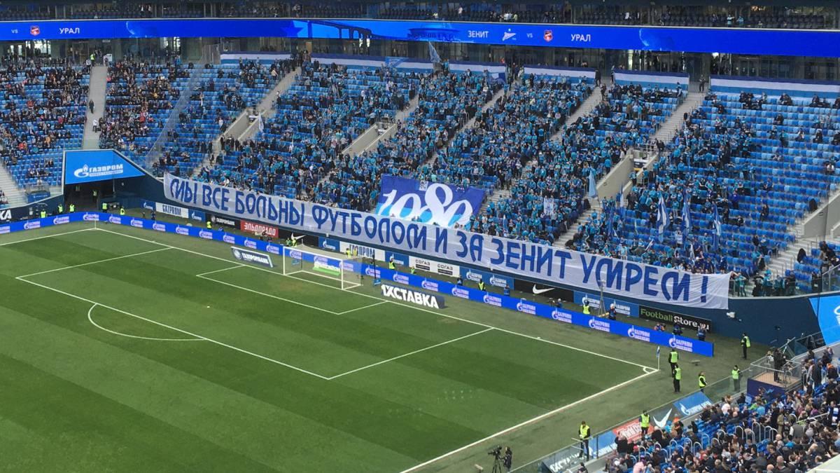 """Indignación con la afición del Zenit: """"Enfermos de fútbol"""" - AS.com"""
